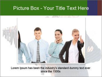 Business woman team PowerPoint Template - Slide 15