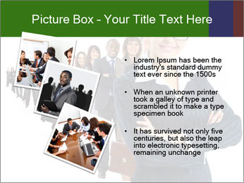 Business woman team PowerPoint Template - Slide 17