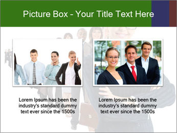 Business woman team PowerPoint Template - Slide 18