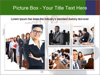Business woman team PowerPoint Templates - Slide 19