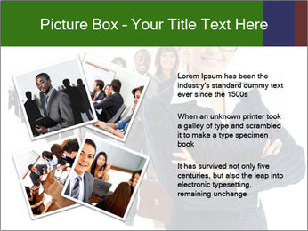 Business woman team PowerPoint Template - Slide 23