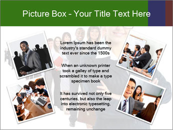 Business woman team PowerPoint Template - Slide 24