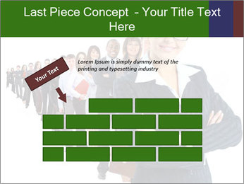 Business woman team PowerPoint Template - Slide 46