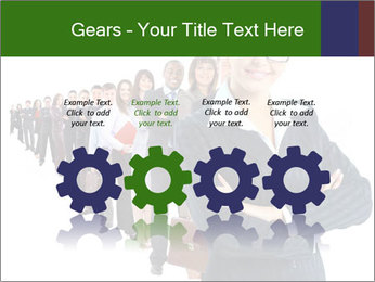 Business woman team PowerPoint Templates - Slide 48