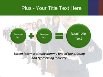 Business woman team PowerPoint Templates - Slide 75