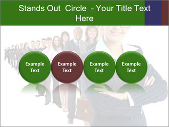 Business woman team PowerPoint Templates - Slide 76