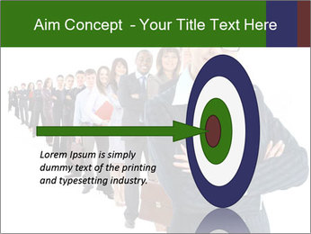 Business woman team PowerPoint Template - Slide 83