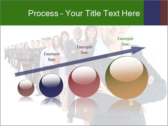 Business woman team PowerPoint Templates - Slide 87