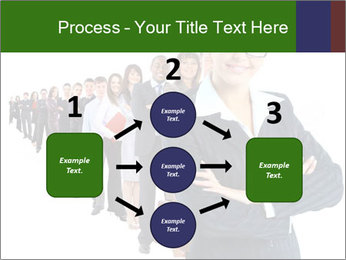 Business woman team PowerPoint Templates - Slide 92
