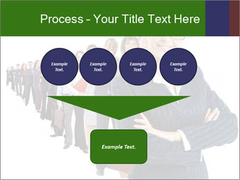 Business woman team PowerPoint Templates - Slide 93