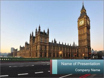 Big Ben PowerPoint Template - Slide 1