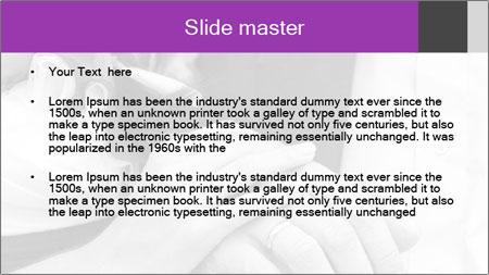 Wedding rings PowerPoint Template - Slide 2