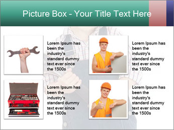 Little builder PowerPoint Templates - Slide 14