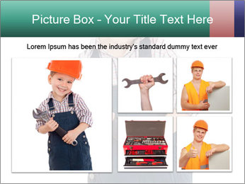 Little builder PowerPoint Templates - Slide 19