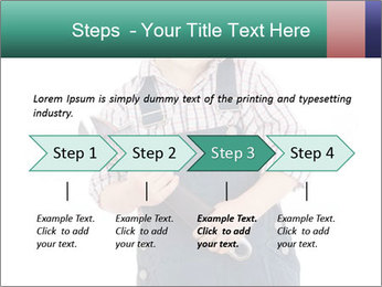 Little builder PowerPoint Templates - Slide 4