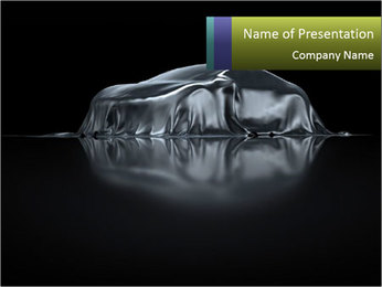 Sports Car presentation PowerPoint Template - Slide 1
