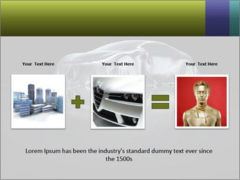 Sports Car presentation PowerPoint Template - Slide 22