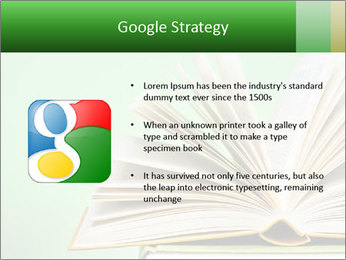 An open book PowerPoint Template - Slide 10
