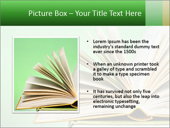 An open book PowerPoint Template - Slide 13