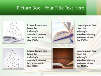 An open book PowerPoint Template - Slide 14