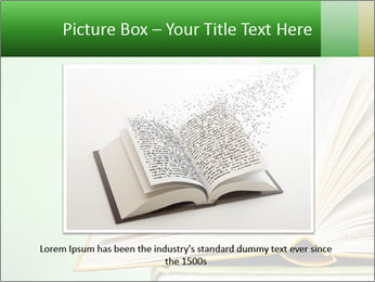 An open book PowerPoint Template - Slide 16