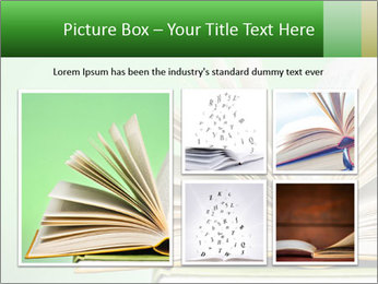 An open book PowerPoint Template - Slide 19