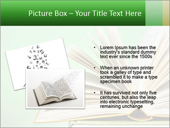 An open book PowerPoint Template - Slide 20