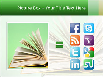 An open book PowerPoint Template - Slide 21