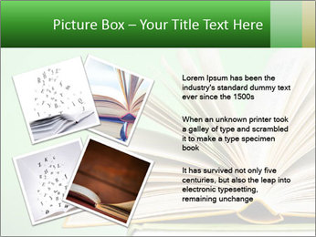 An open book PowerPoint Template - Slide 23