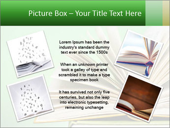 An open book PowerPoint Template - Slide 24