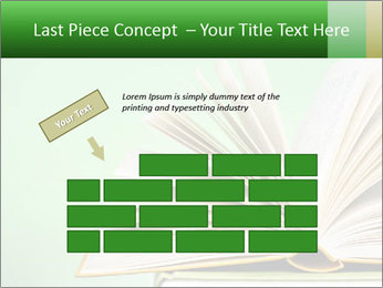An open book PowerPoint Template - Slide 46