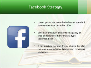 An open book PowerPoint Template - Slide 6