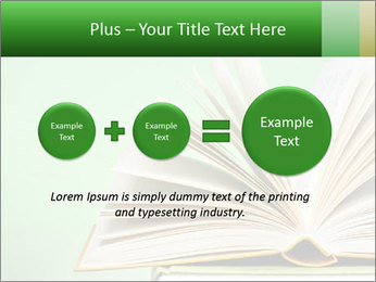 An open book PowerPoint Template - Slide 75