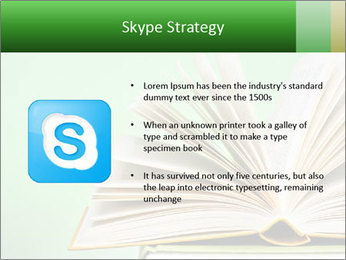 An open book PowerPoint Template - Slide 8
