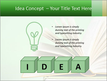An open book PowerPoint Template - Slide 80