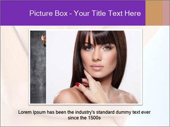 Young woman PowerPoint Template - Slide 16
