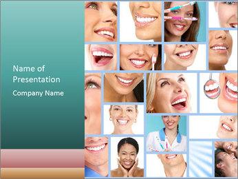 Dental collage. PowerPoint Templates - Slide 1