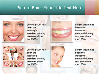 Dental collage. PowerPoint Template - Slide 14