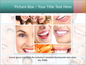 Dental collage. PowerPoint Template - Slide 16