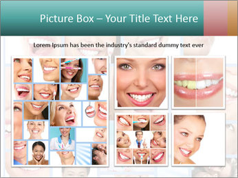 Dental collage. PowerPoint Template - Slide 19