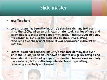 Dental collage. PowerPoint Templates - Slide 2