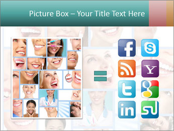 Dental collage. PowerPoint Template - Slide 21