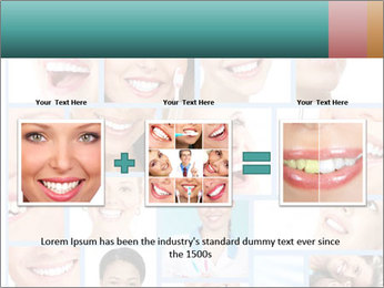 Dental collage. PowerPoint Template - Slide 22
