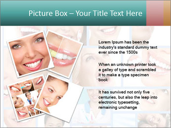 Dental collage. PowerPoint Template - Slide 23