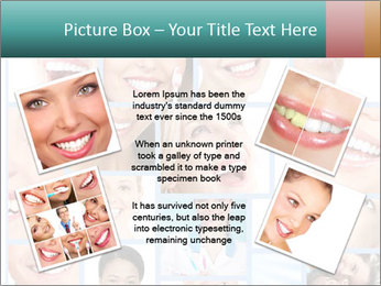 Dental collage. PowerPoint Template - Slide 24
