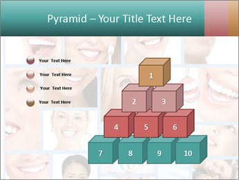 Dental collage. PowerPoint Template - Slide 31