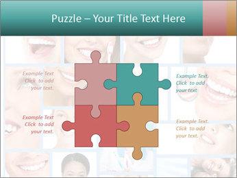 Dental collage. PowerPoint Templates - Slide 43