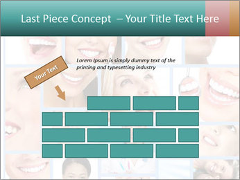 Dental collage. PowerPoint Templates - Slide 46