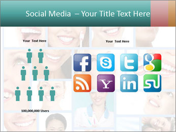 Dental collage. PowerPoint Template - Slide 5