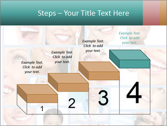 Dental collage. PowerPoint Template - Slide 64